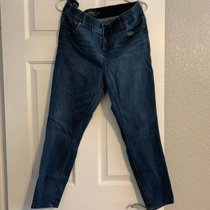 Torrid Bombshell Stretch Skinny Jeans - Dark Wash